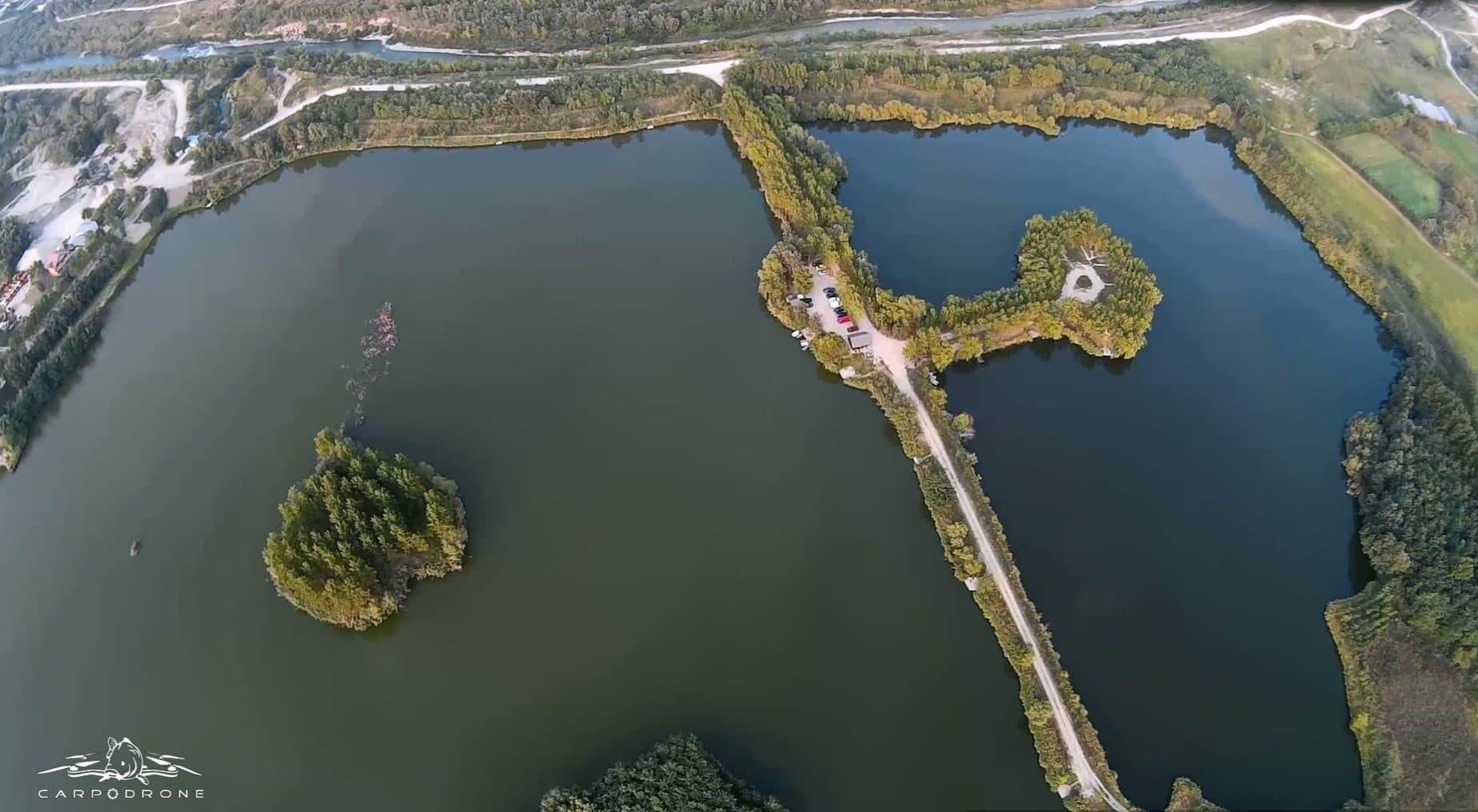 Nada noua testata pe lacul Varlaam